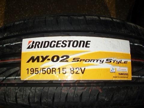 Отзывы о Bridgestone MY02 Sporty Style