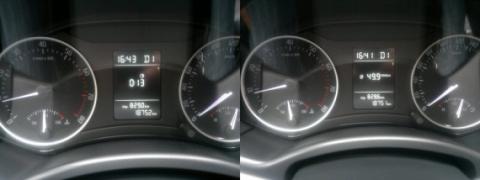 Расход бензина на чипованой машине в пробках